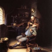 Gerrit Dou. The Extraction of Tooth, 1630-35