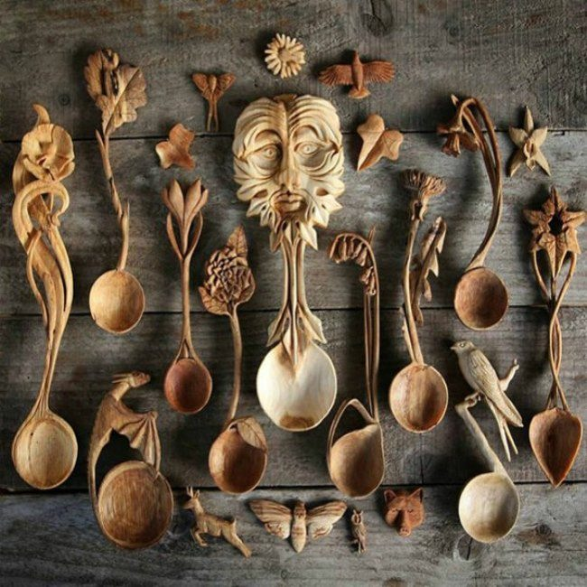 Gorgeous spoons
