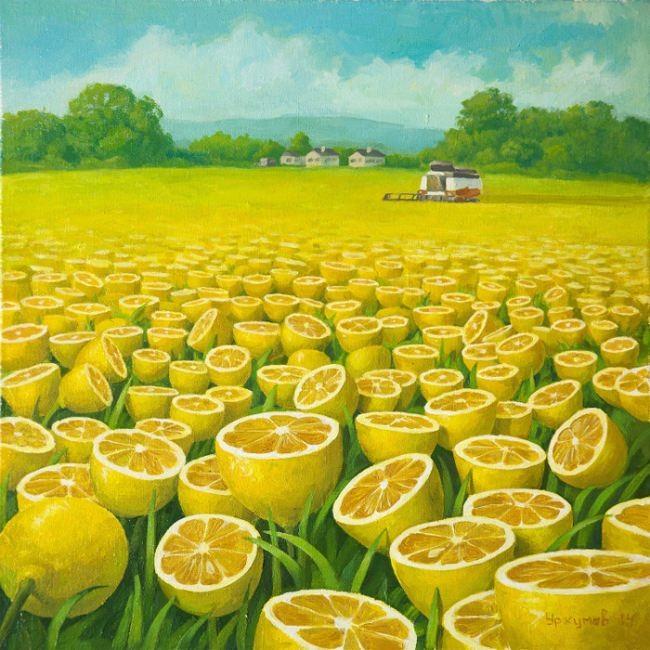 Harvesting by Vitaliy Urzhumov