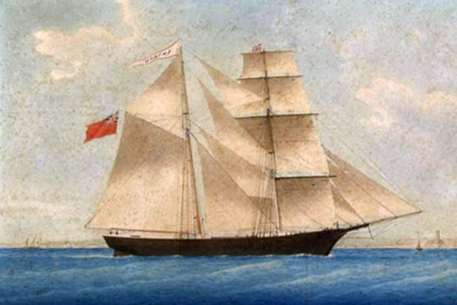 Infamous Mary Celeste