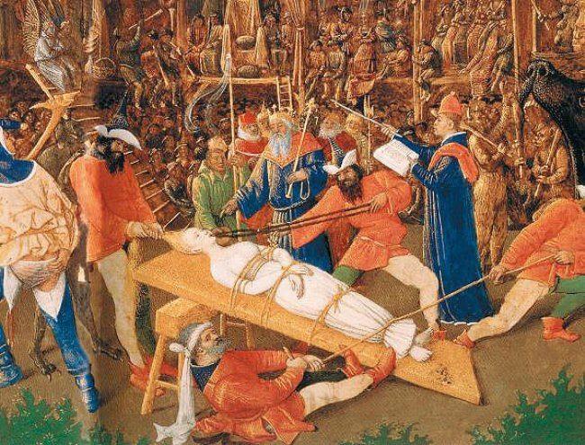 Jean Fouquet, Martyrdom of St. Apollonia