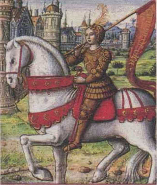 Jeanne d'Arc was the first European woman to wear men's trousers