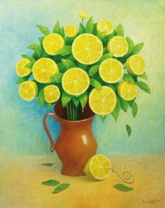 Lemon bouquet by Vitaliy Urzhumov