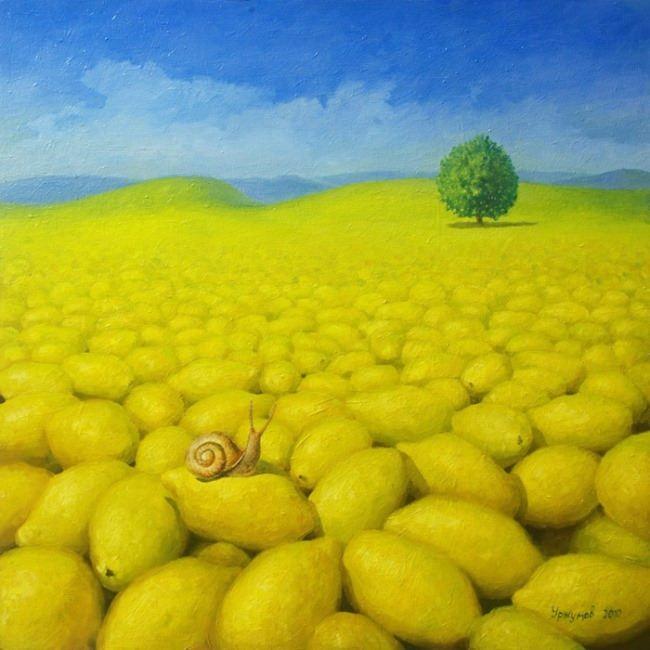 Lemon world by Vitaliy Urzhumov