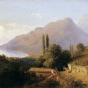 Leo Lagorio. Crimean landscape