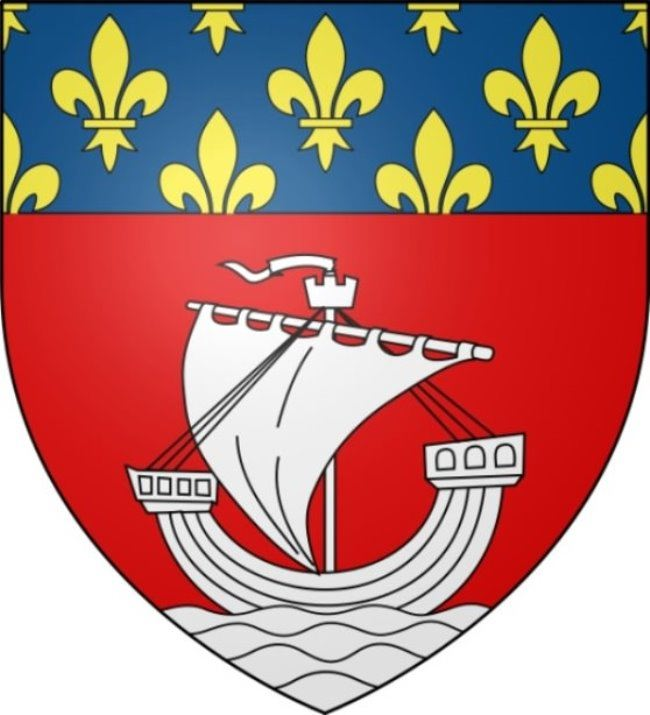 Lilies on the coat of arms