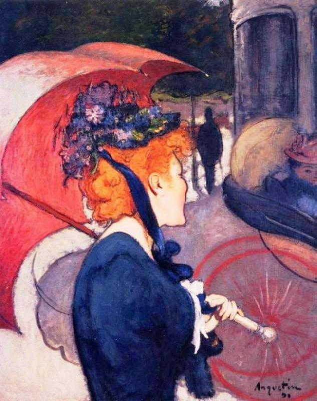 Louis Anquetin Woman with Umbrella 1891