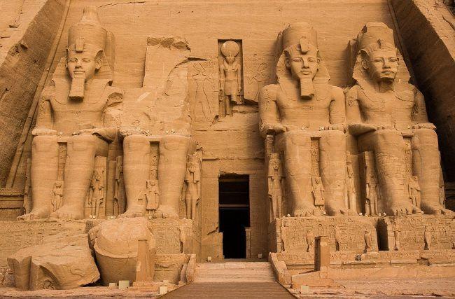 Majestic Abu Simbel Temple