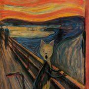 March cat. Original - Edvard Munch, Scream