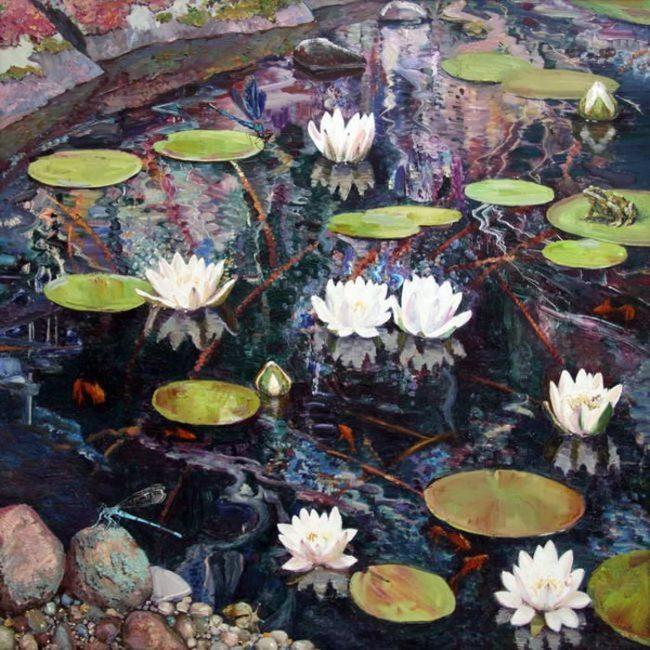 Maria Pavlova. Pond