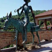 Monument to Don Quixote in Georgia