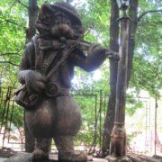 Monument to cat in Ukraine