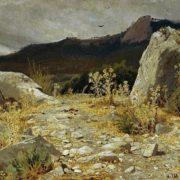 Mountain path. Crimea. Ivan Shishkin, 1879