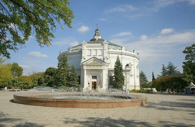 Museum panorama Defense of Sevastopol