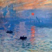 Original - Claude Monet, Impression. Sunrise