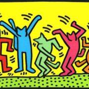 Original - Keith Harring, Disco