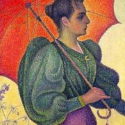 Paul Signac. Woman with a Parasol, 1893