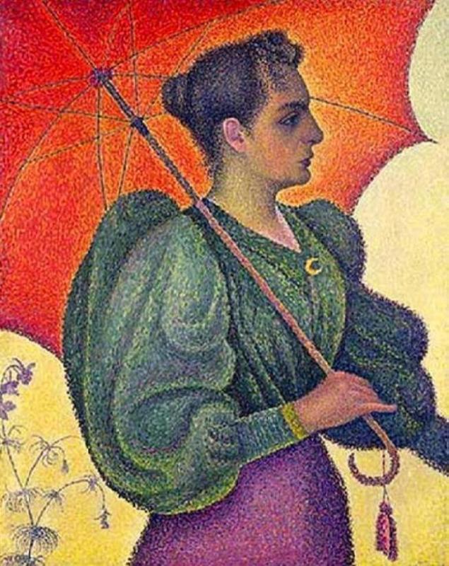 Paul Signac. Woman with a Parasol, 1893