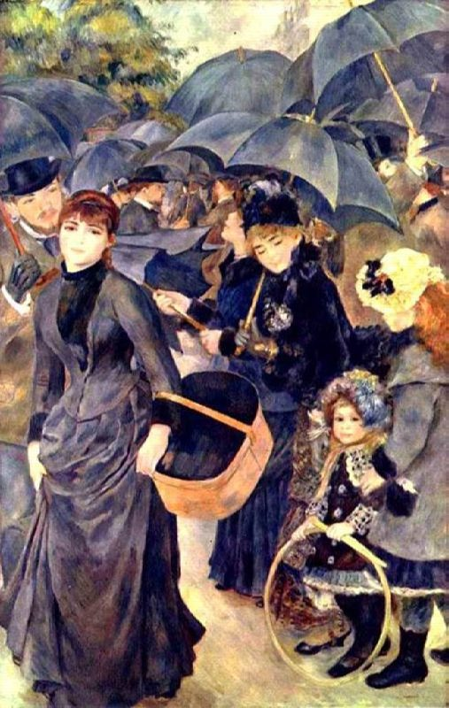 Pierre Auguste Renoir. Umbrellas. 1879