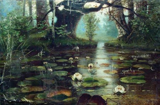 Pond with white lilies, 1893