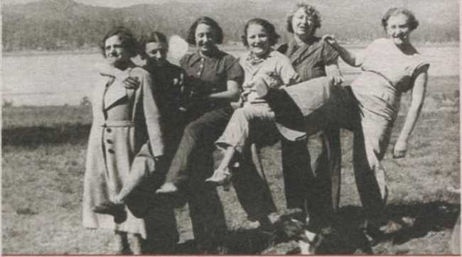 Progressive ladies of the 1930s
