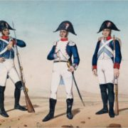 Spanish infantry of the 19th century