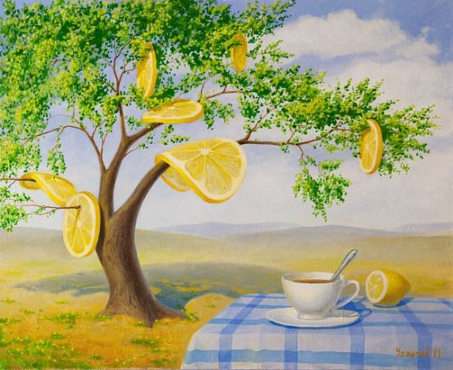 Tea with lemon by Vitaliy Urzhumov