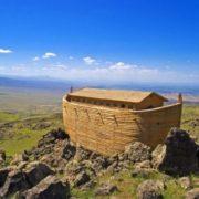 The Danish builder Johan Huibers built this exact copy of Noah's Ark in the Netherlands
