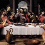 The Last Supper. Juan de Juanes. 1562