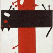 The March fight. Original - Kazimir Malevich, Suprematist composition 4