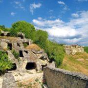 The cave city Chufut-Kale