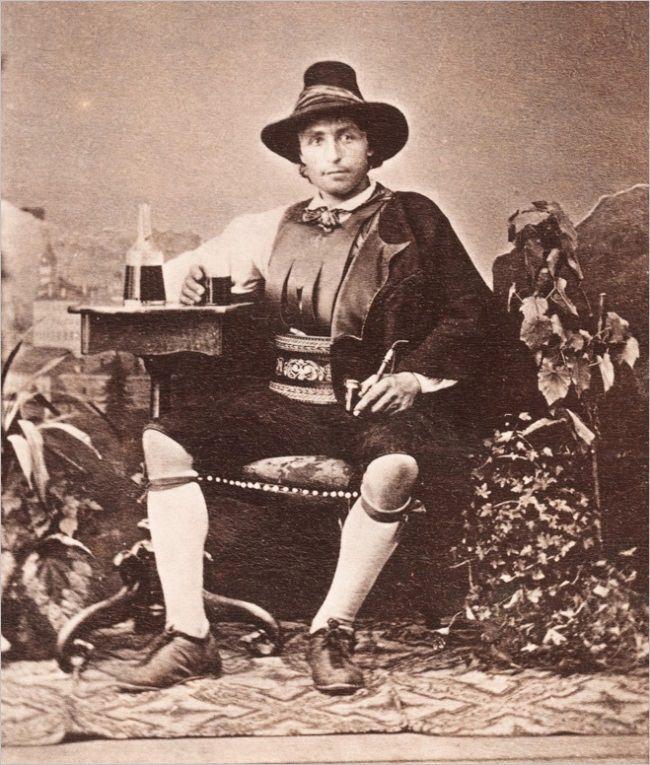 Tirol national costume