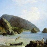 View of Ayudag in Crimea, 1836. Nikanor Chernetsov