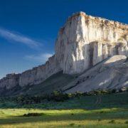 White cliff of Ak-Kaya