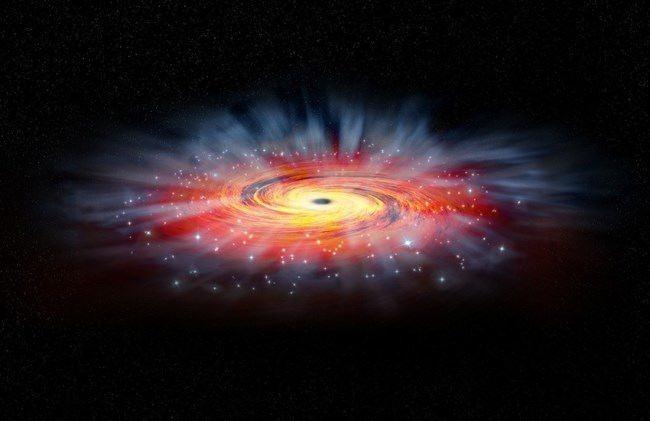 Amazing Black Hole