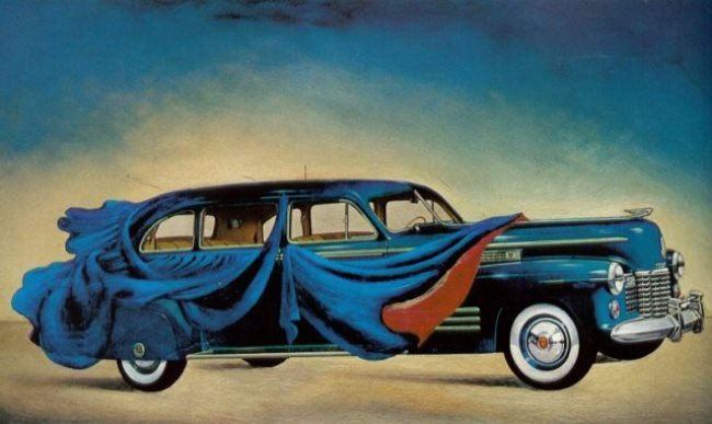 Amazing car by Salvador Dali