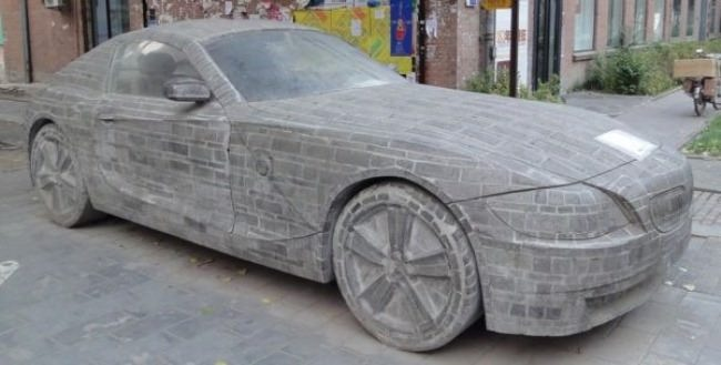 Beijing. Stone BMW