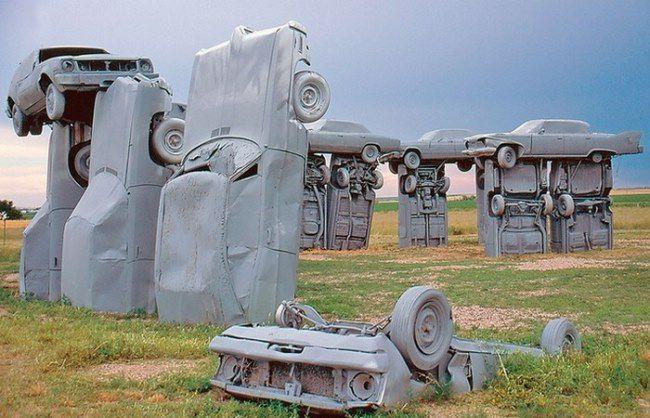 Carhenge by Jim Reinders