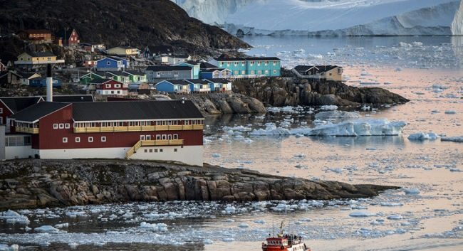 Center of Ilulissat