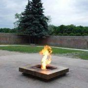 Eternal Flame in St. Petersburg, Russia