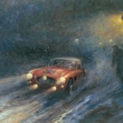 Interesting Retro cars by Alan Fearnley