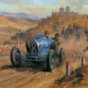 Majestic Retro cars by Alan Fearnley