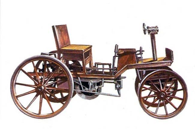 Marcus car, 1873-1875, Austria