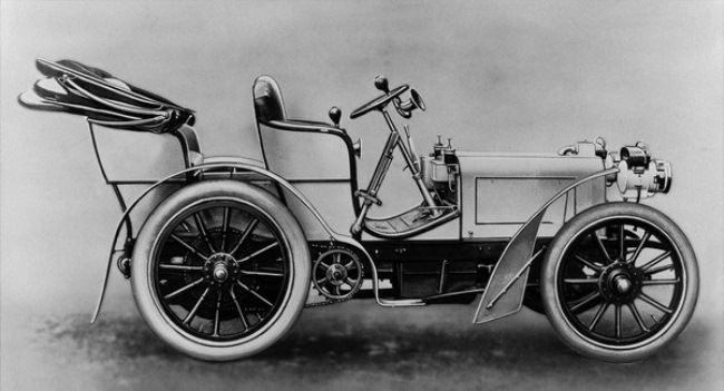 Mercedes 35 hp