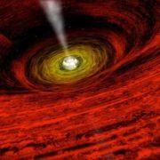 Picturesque Black Hole