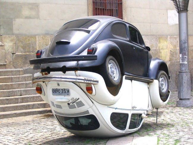 Rio de Janeiro, Yin-Yang from Folkwagens