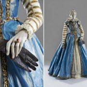 Vintage dresses made of paper by Isabelle de Borchgrave