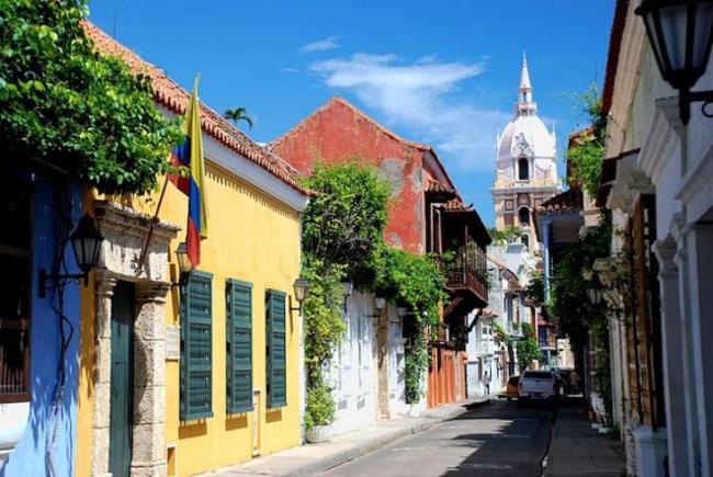 Walled city Cartagena