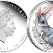 Bandicoot on the coin
