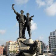 Martyrs Square in Beirut